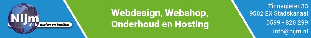 NIJM Webdesign & Hosting banner