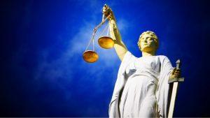 vrouwe jusitita rechtbank